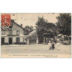 Rare Lot de 10 Cpa 61 BAGNOLES-DE-L'ORNE. Rue des Bains, Place Nélodion, Avenue de la Gare, Voitures anciennes etc...