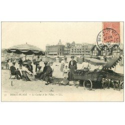 carte postale ancienne 62 BERCK. Lot 10 Cpa Cure d' Air Casino Villas, Phare, Voilier, Hôpital Infirmerie...
