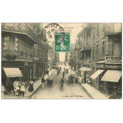 carte postale ancienne 62 BERCK. Lot 10 Cpa Rue de la Mer, Matelotes, Monument Docteurs, Villas, Digue, Bateau, Plage...