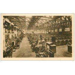 carte postale ancienne 62 BOULOGNE-SUR-MER. Ecole Pratique Commerce. Atelier ajustage. Industrie et Mécaniciens de Marine