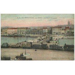 carte postale ancienne 62 BOULOGNE-SUR-MER. Pont Marguet 1929