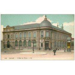 carte postale ancienne 62 CALAIS. Hôtel des Postes