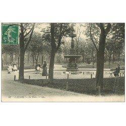 carte postale ancienne 62 CALAIS. Lot 10 Cpa Parc, Phare, Matelote, Six Bourgeois, Théâtre, Place Crèvecoeur, Caserne Vauban...