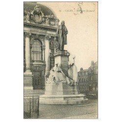 carte postale ancienne 62 CALAIS. Monument Jacquard 1923