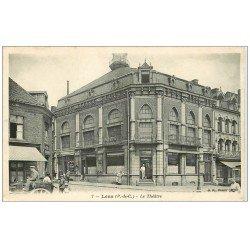 carte postale ancienne 62 LENS. Café Théâtre