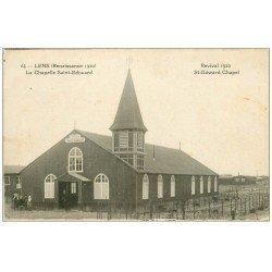 carte postale ancienne 62 LENS. Chapelle Saint-Edouard