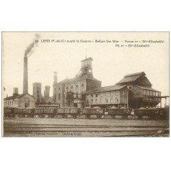 carte postale ancienne 62 LENS. Fosse n°1 des Mines