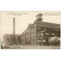 carte postale ancienne 62 LENS. Fosse n°9 des Mines