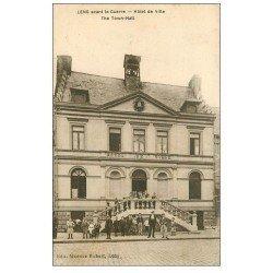 carte postale ancienne 62 LENS. Hôtel de Ville