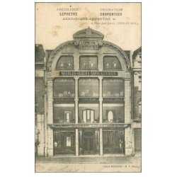 carte postale ancienne 62 LENS. Magasin Leprêtre Carpentier Place Jean-Jaurès