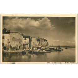 carte postale ancienne 13 MARTIGUES. Port des Pêcheurs 1935