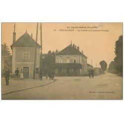 carte postale ancienne 70 ARC-LES-GRAY. La Croisée et Route de Chargey