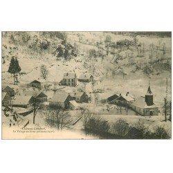 carte postale ancienne 70 CHATEAU-LAMBERT. Village 1907