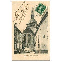 carte postale ancienne 70 GRAY. Abside de l'Eglise 1908