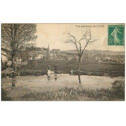 carte postale ancienne 70 LURE. Lavandières bord de l'Eau