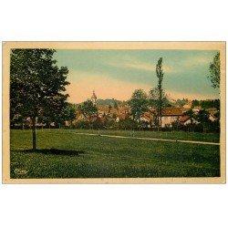 carte postale ancienne 70 LURE. Mont-Châtel. Destination Indochine 1939