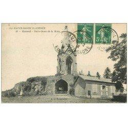 carte postale ancienne 70 VESOUL. Notre-Dame de la Motte 1916