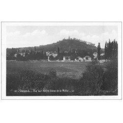 carte postale ancienne 70 VESOUL. Notre-Dame de la Motte. Carte Photo