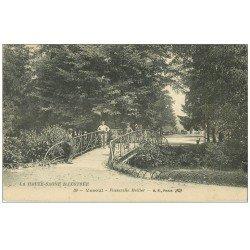 carte postale ancienne 70 VESOUL. Passerelle Meiller 1925