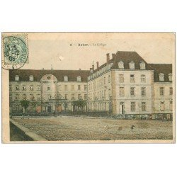 carte postale ancienne 71 AUTUN. Le Collège 1905