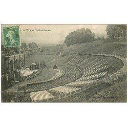 carte postale ancienne 71 AUTUN. Théâtre Romain 1922