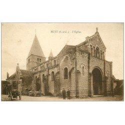 carte postale ancienne 71 BUXY. L'Eglise 1931