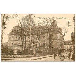 carte postale ancienne 71 CHALON-SUR-SAONE. La Sous-Préfecture