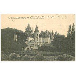 carte postale ancienne 71 CHATEAU DE BURNAND. Saint-Gengoux-le-National