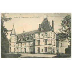 carte postale ancienne 71 CHATEAU DE CHAUMONT. Saint-Bonnet-de-Jeux