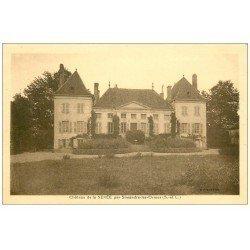 carte postale ancienne 71 CHATEAU DE LA SEREE par Simandre-les-Ormes