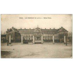 carte postale ancienne 71 LE CREUSOT. Hôtel-Dieu 1931