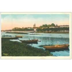 carte postale ancienne 71 MACON. Barques