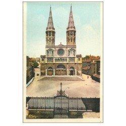 carte postale ancienne 71 MACON. Eglise Saint-Pierre