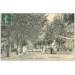 carte postale ancienne 71 MACON. Parc du Stand 1907