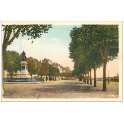 carte postale ancienne 71 MACON. Promenades Quai Lamartine