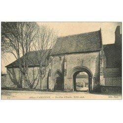 carte postale ancienne 14 ABBAYE D'ARDENNE. Pavillon Entrée