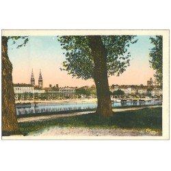 carte postale ancienne 71 MACON. Ses Quais