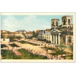 carte postale ancienne 71 MACON. Square de la Paix