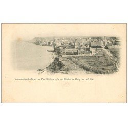 carte postale ancienne 14 ARROMANCHES. Falaises Tracy vers 1900