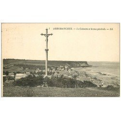 carte postale ancienne 14 ARROMANCHES. Le Calvaire 1928