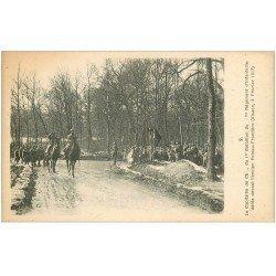 carte postale ancienne 68 ALSACE. Guerre 1914-18. Capitaine Bataillon d'Infanterie Poteau-Frontière...