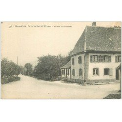 carte postale ancienne 68 CHAVANNES-L'ETANG. Bureau des Douanes