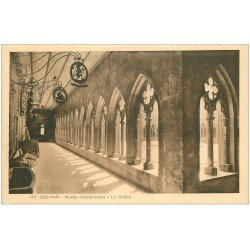 carte postale ancienne 68 COLMAR. Cloître Musée Unterlinden