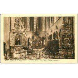 carte postale ancienne 68 COLMAR. Eglise Saint-Martin Trois Autels du Choeur