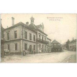 carte postale ancienne 68 GIROMAGNY. Hôtel de Ville