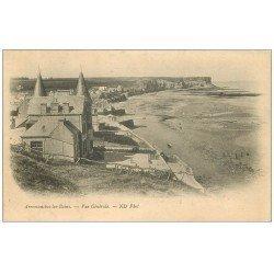 carte postale ancienne 14 ARROMANCHES. Vue générale vers 1900