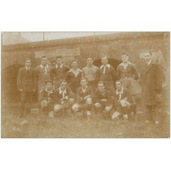 68 MULHOUSE. Equipe de Football. CS Olympique de Mulhouse. Association Sportive Mulhousienne fondée en 1903. Carte Photo