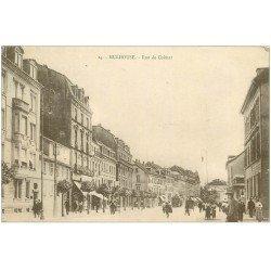 carte postale ancienne 68 MULHOUSE. Rue de Colmar 1928