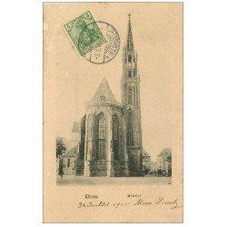 carte postale ancienne 68 THANN. Münster 1905