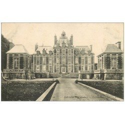 carte postale ancienne 14 BALLEROY. Château 16